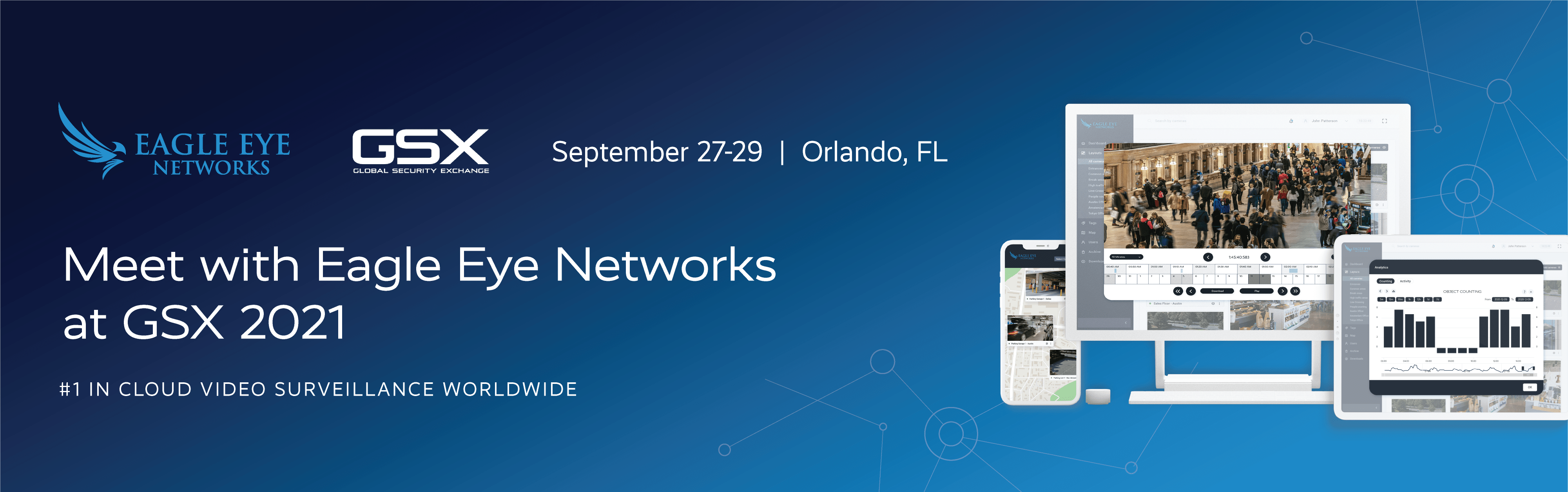 Meet with Eagle Eye Networks at GSX 2021